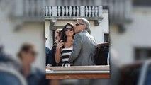 Clooney, wife Amal Celebrate 2nd Wedding
