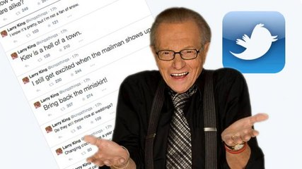 Larry King's Late Night Tweets Are Nuts | DAILY REHASH | Ora TV