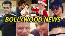Bollywood Gossips | Shahrukh Khan's Son AbRam As A Cute Santa Claus | 27th October 2014
