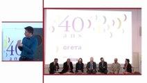 40 ans des GRETA : 1ère table ronde « Les GRETA formez-vous  à demain » pt. 1