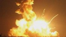 Rocket bound for space station explodes after lift-off