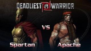 Spartan VS Apache In A Deadliest Warrior The Game Battle Mat