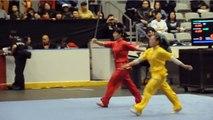 Incroyable démonstration de Kung-Fu (lance attaque + esquive)