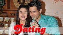 Alia Bhatt In A Relationship With Sidharth Malhotra?
