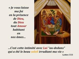 5. Prier avec l'icône de sainte Elisabeth de la Trinité