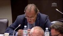 TOURISME :  Commission des Affaires Economiques Jean-Michel Couve interroge Laurent Fabius (octobre 2014)