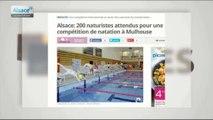 L'image du jour : un tournoi de natation naturiste à Mulhouse