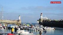 Belle-Ile-en-Mer (56). Manifestation des cirés jaunes : l'arrivée du Vindilis retardée