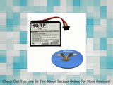 HQRP Battery for TomTom Go 2435, Go 2435TM, Go 2535, Go 2535M, Go 2535M Live, Go 2535T, Go 2535TM, Go 2535TM WTE GPS Navigator 1CT4.019.03 FKM1108005799 4CQ01 4CS03 4CT4.001.01 4CT50 4EN42 4EV42 4EV52 ICP653443M P11P20-03S01 + HQRP Coaster