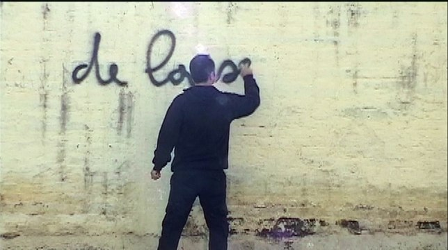 graffiti de la servitude moderne - Jean-François Brient