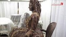 Salon du chocolat : les sculptures monumentales de l'édition 2014