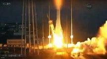 Explosion d'une fusée de la NASA au décollage