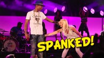 (Video) Pharell Williams SPANKED by Gwen Stefani | Perform Hollaback Girl Duet | We Can Survive