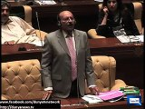 CM Sindh Qaim Ali Shah speaks in English during Assembly Session