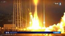 Explosion d'une fusée de la Nasa après son décollage