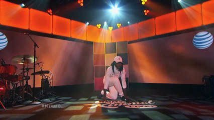 """Blood Orange Performs """"Time Will Tell"""" on Jimmy Kimmel Live"""