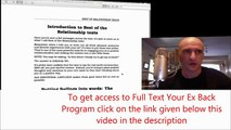 Text Your Ex Back  Module 7   the best Texts To Get Your Ex Back Emotional Response