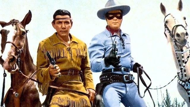 The Lone Ranger (1956) Clayton Moore, Jay Silverheels, Lyle Bettger.  Western