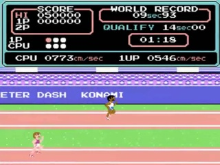 Track & Field – Gameplay – arcade