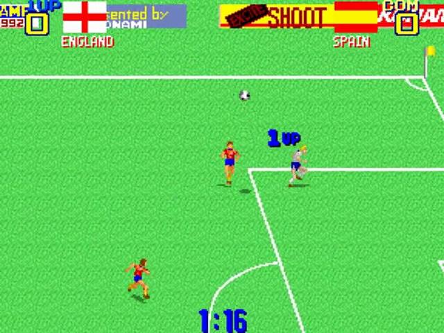 Premier Soccer – Gameplay – arcade