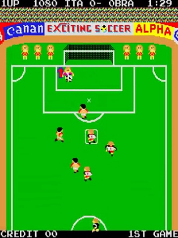 Exciting Soccer – Gameplay – arcade