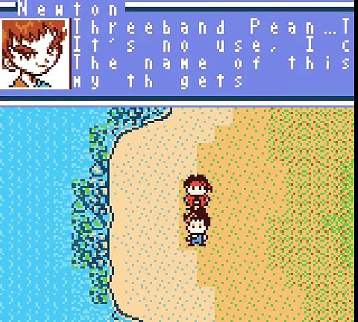Nushi Tsuri Adventure - Kite no Bouken - Gameplay - gbc