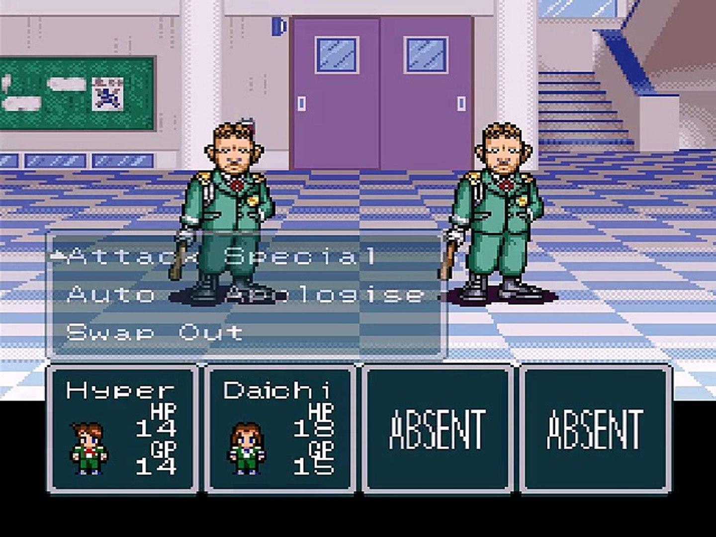 Hourai Gakuen no Bouken! - Tenkousei Scramble - Gameplay - snes