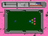 Lunar Pool - Gameplay - nes