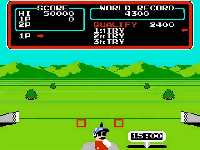 Track & Field – Gameplay – nes