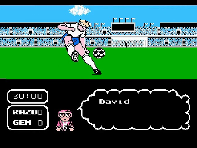 Tecmo Cup – Soccer Game – Gameplay – nes