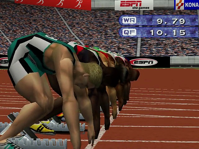 ESPN International Track & Field – Gameplay – dreamcast