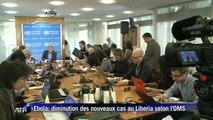 Ebola: diminution des nouveaux cas au Liberia, selon l'OMS