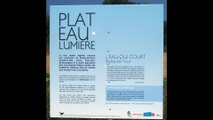 L'eau qui court / La noue qui joue _Expo PLAT-EAU LUMIERE by Gilles Brusset @ BOULLAY LES TROUX ,Paris, France / CART-EAUX edit by Edouard Sors