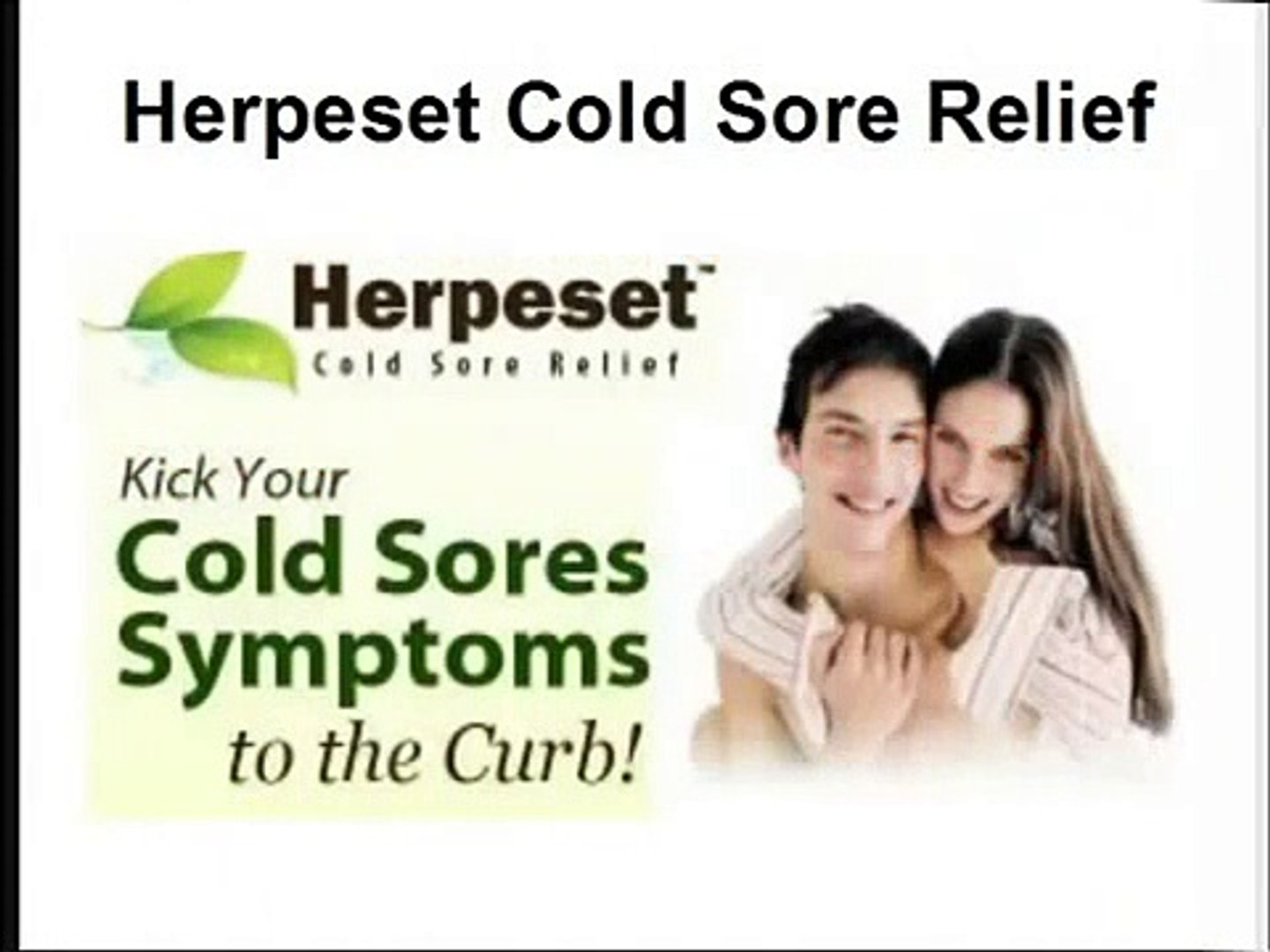 Herpeset Cold Sore Relief How To Get Rid Of Cold Sores Fast