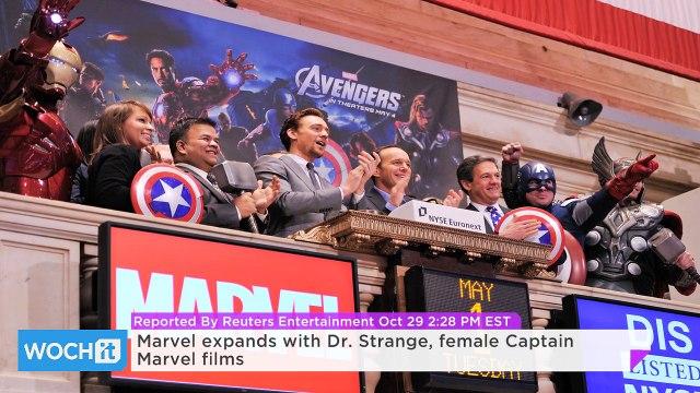 Marvel Expands With Dr. Strange, Female Captain Marvel Films