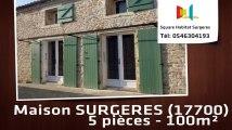 A louer - Maison/villa - SURGERES (17700) - 5 pièces - 100m²