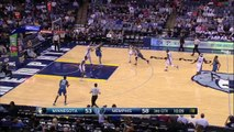 Andrew Wiggins Drains a Three for His First NBA Basket