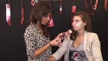 Beauté mode : Maquillage halloween : brûlure sur le visage
