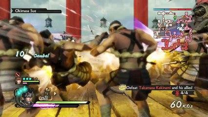 Vidéo test de Samurai Warriors 4