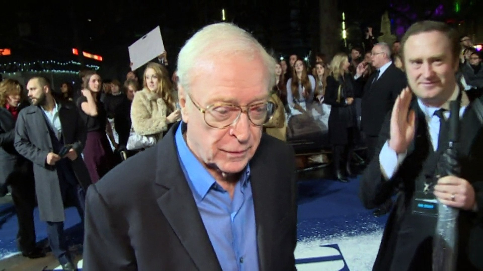 Michael Caine on Christopher Nolan having him on speed dial