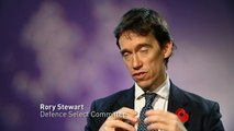Rory Stewart says more support should be given to military
