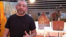 Gérard Safar est président de l'association Art Prime qui permet à tous d'exprimer son art. Rencontre sur le salon Handica