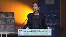 Ségolène Royal annonce la préfiguration de l'Agence française pour la biodiversité