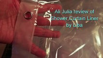 Shower Curtain Liner, PEVA Antimicrobial PVC Free Shower Curtain