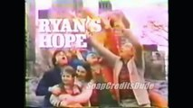 Ryan's Hope Opening Titles - Many Opening Credits