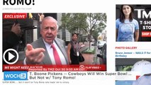 T. Boone Pickens -- Cowboys Will Win Super Bowl ... But Not W/ Tony Romo!