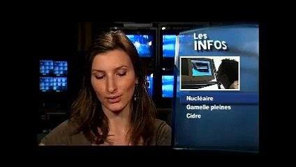 ACRO - Analyses de la radioactivité dans l'environnement pendant le passage du nuage de Fukushima en France - Normandie TV 24/03/2011