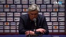 Conférence de presse après PSG 2-1 OM