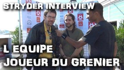Entrevue avec l'équipe du JOUEUR DU GRENIER