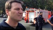 Des pompiers en colère